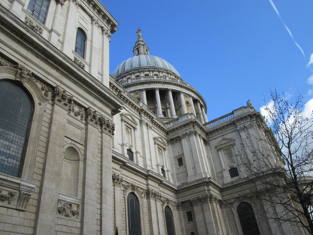 """St. Paul's Cathedral. As Jax puts it, """"IT'S LITERALLY BEAUTIFUL FROM EVERY ANGLE!!!"""" #truth"""
