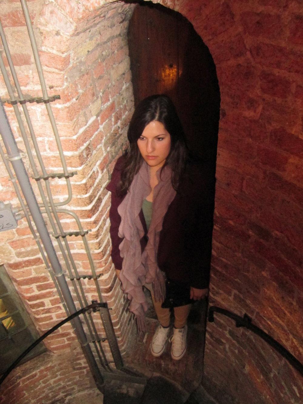 Stairwell creepin'