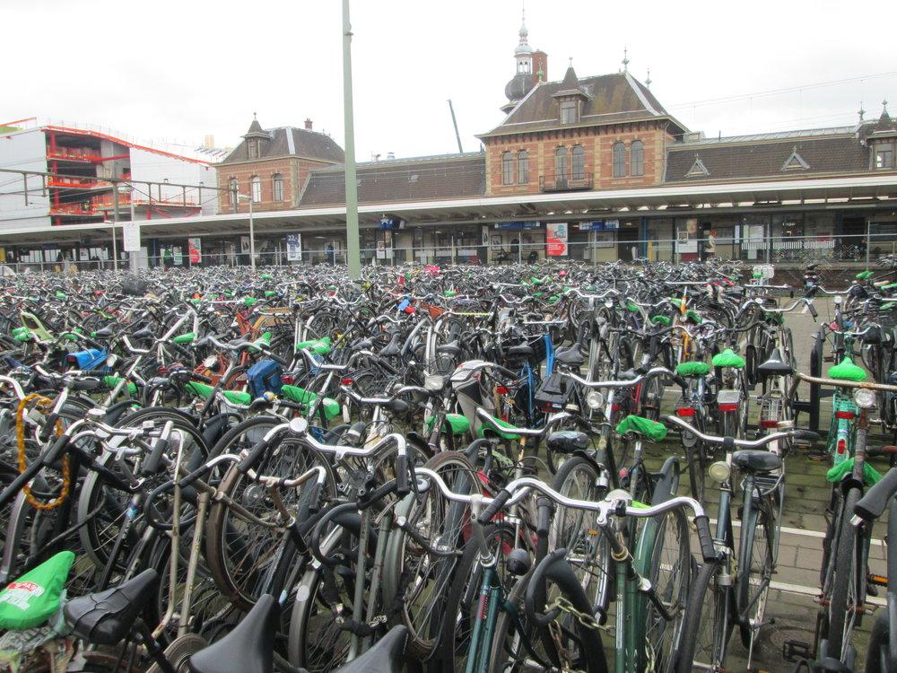 Hella bikes everywhere