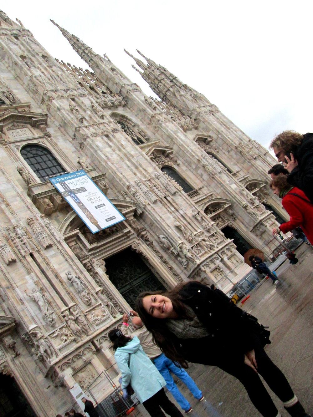 Duomo di Milano! My favorite site in Italy.