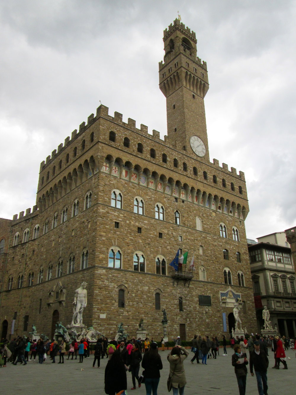"Palazzo Vecchio in Florence. The literal translation is ""old place."""