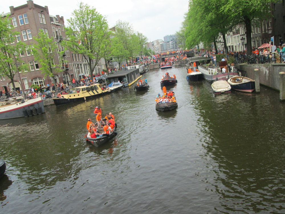 King's Day boat parties = crucial.