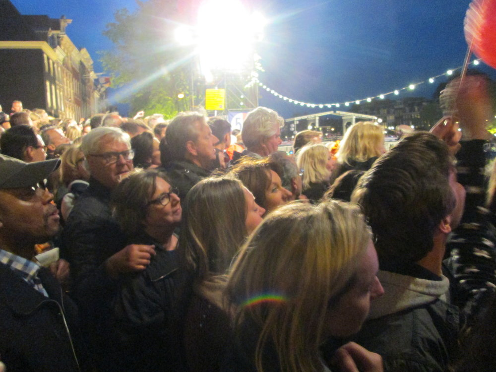 Crowd at the Concert on the Amstel.