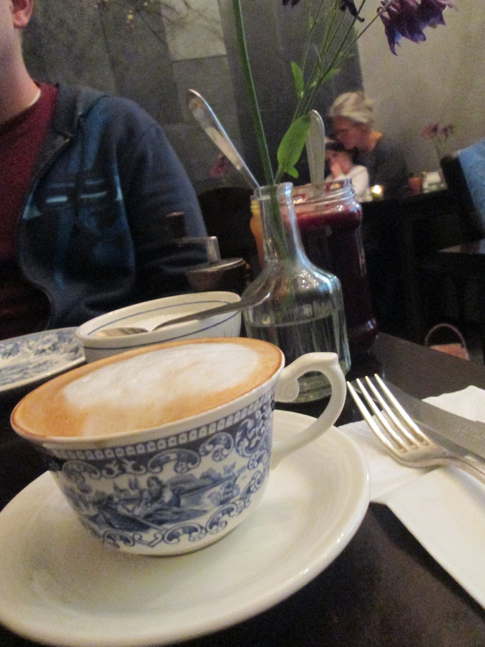Brunch with Mama at the #1 Yelped place in Amsterdam, Gartine.