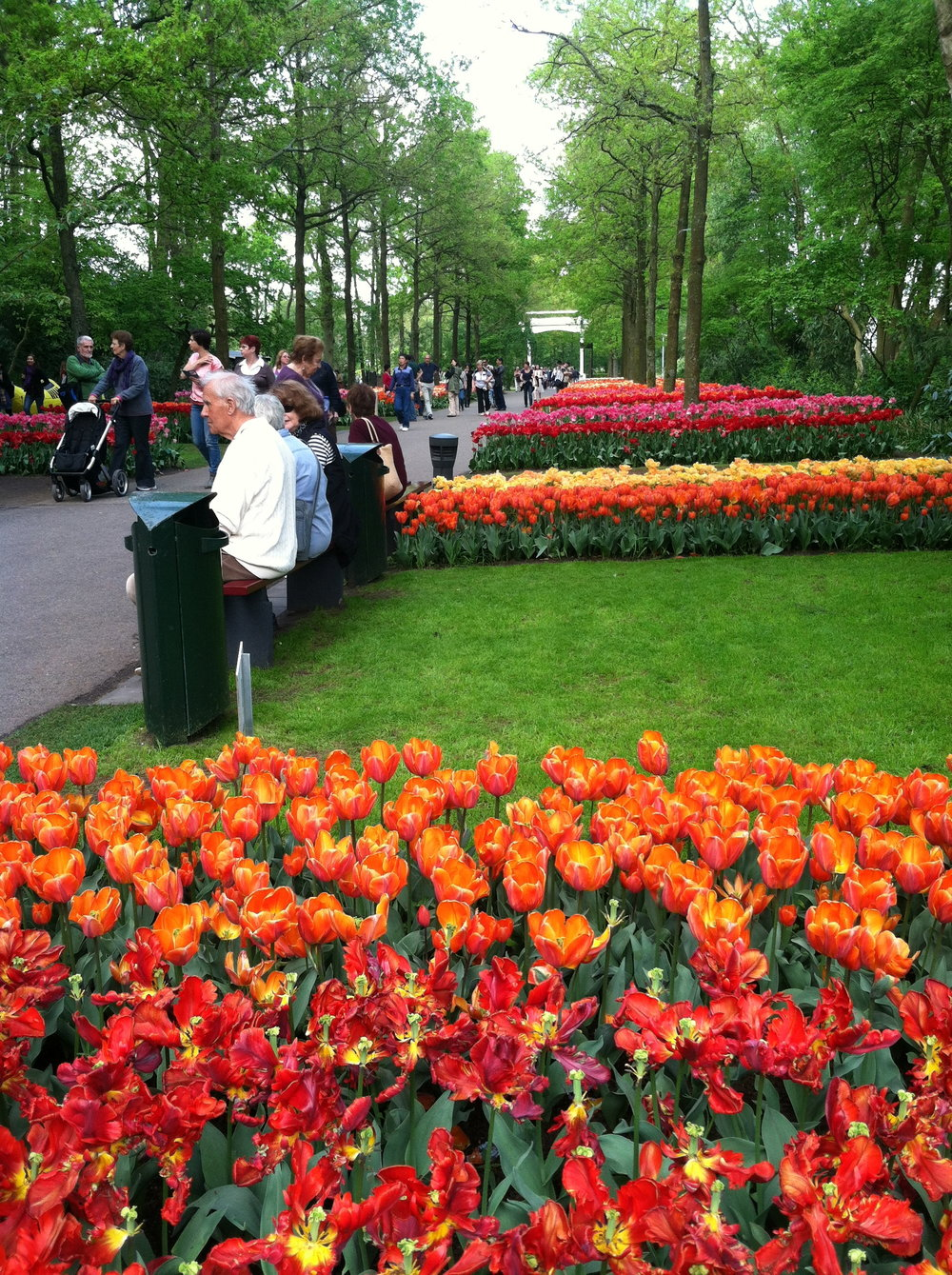 Entrance to the Keukenhof.