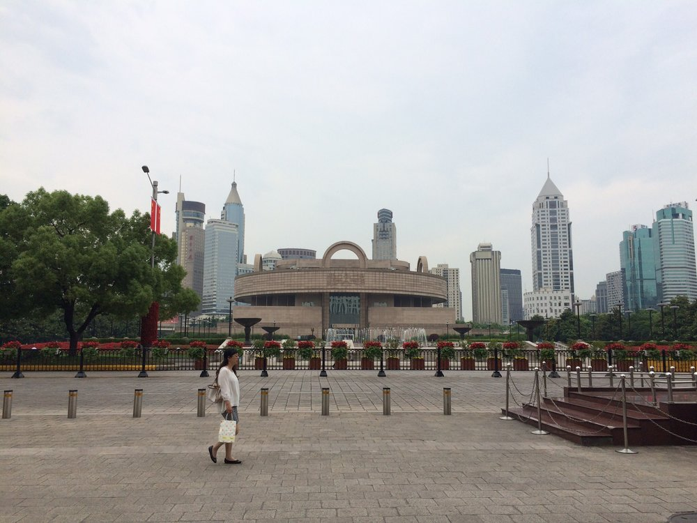 The Shanghai Museum, also located in the People's Square.