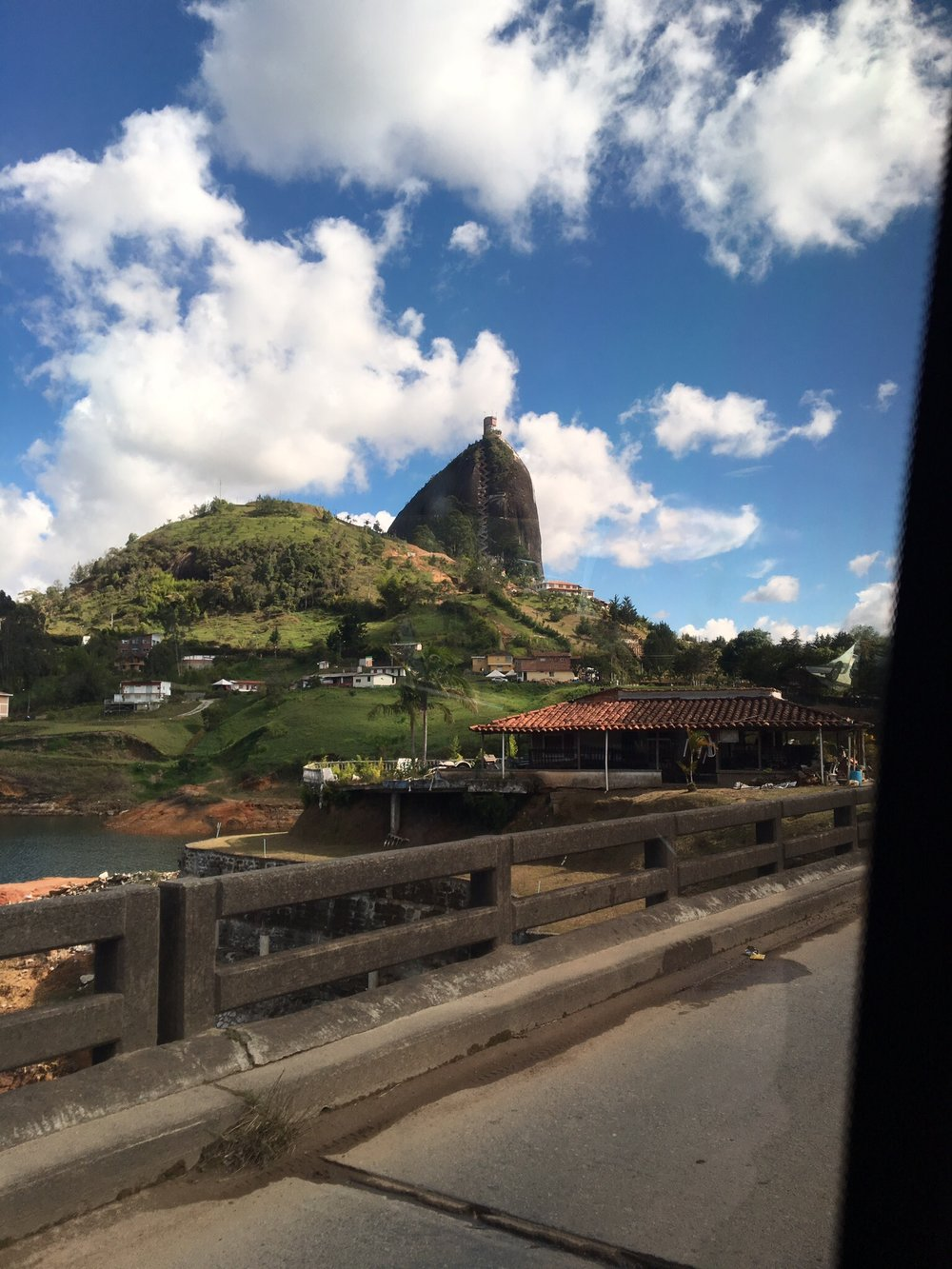 Approaching El Penon/The Rock.