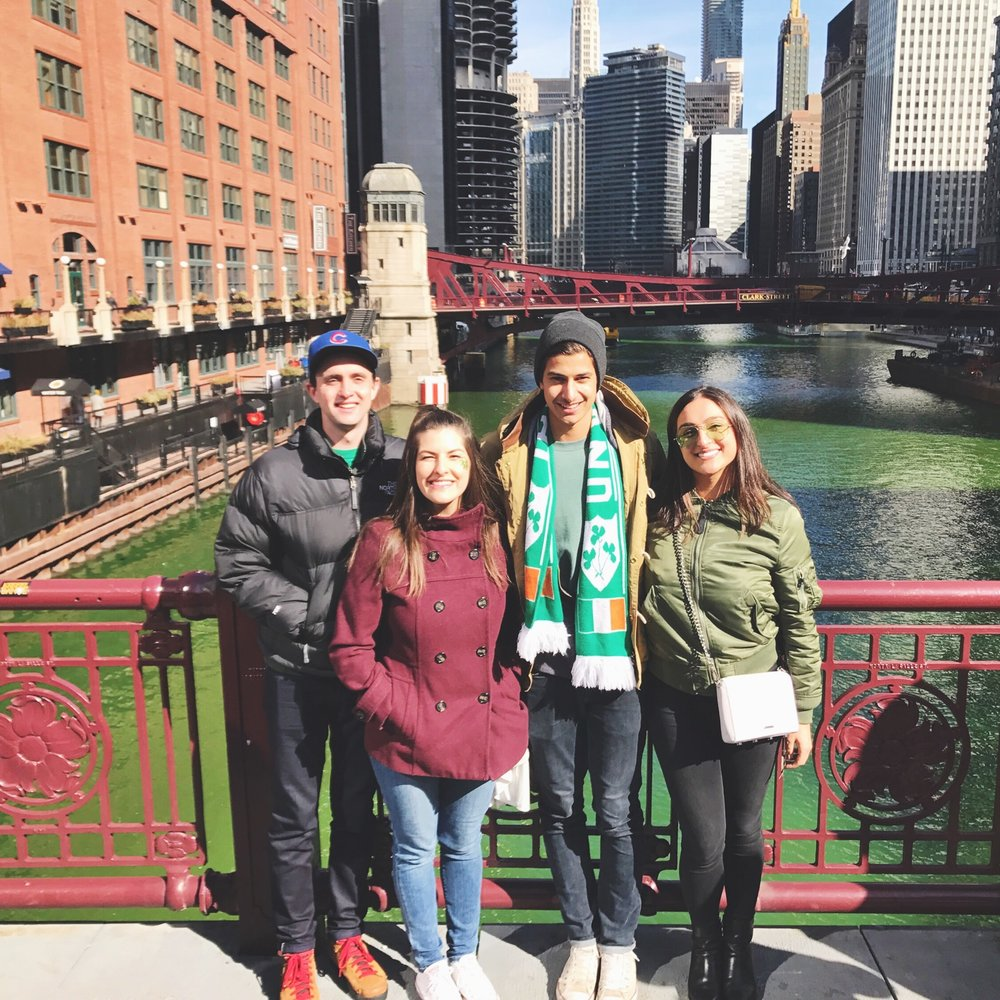 Thankful for the chance to explore Chicago over St. Patrick's Day weekend with some of my best buds.