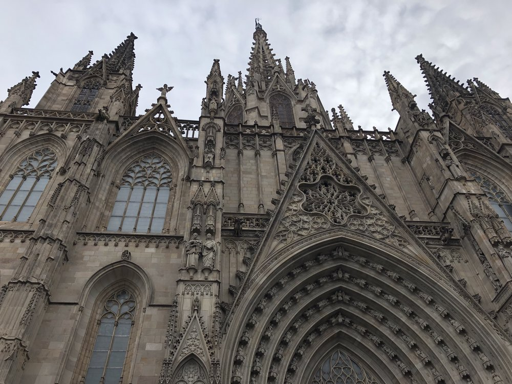 One of the many glorious churches in Barcelona.