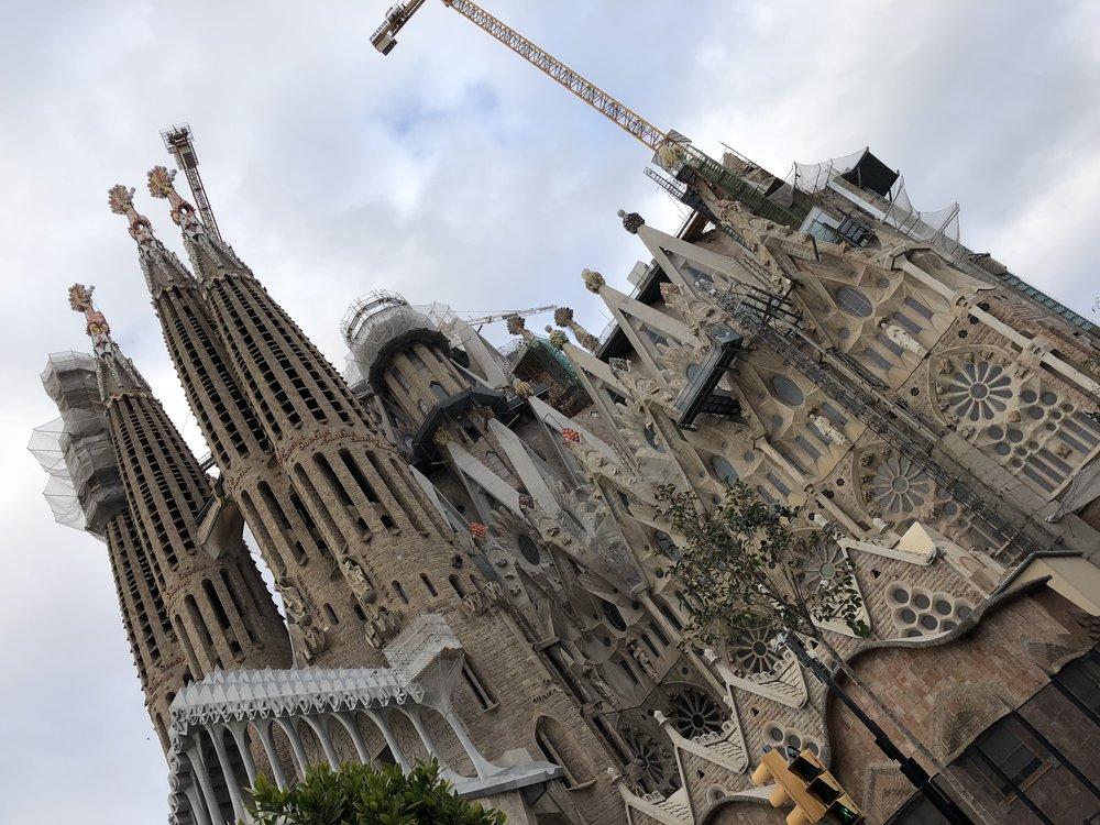 La Sagrada Familia was even more breath-taking the second time I visited.