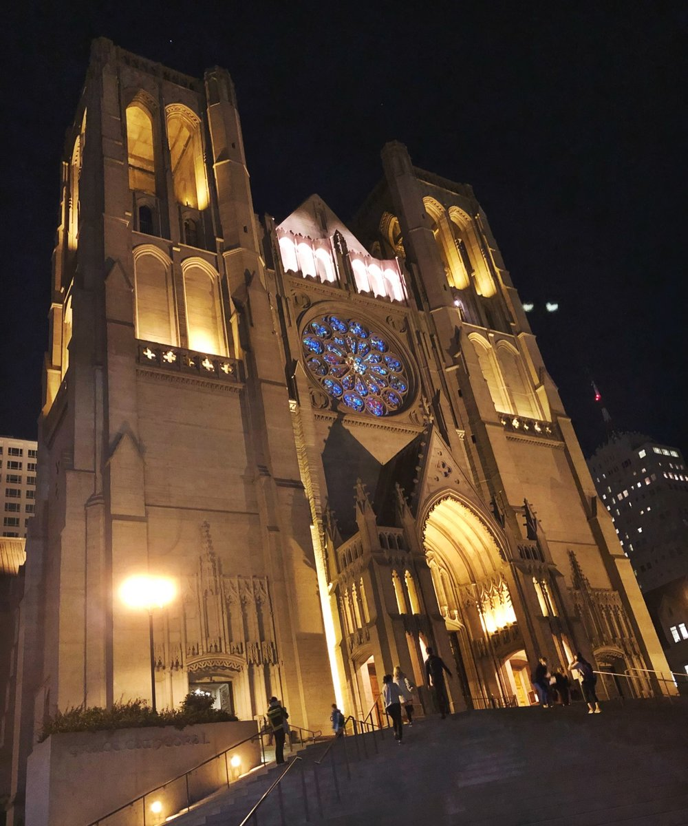 San Francisco's Grace Cathedral: Possibly the most breath-taking yoga studio in the world.