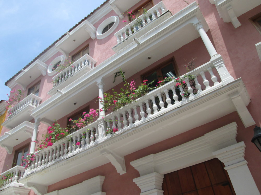 Just one example of the charming colonial architecture that permeates the city.
