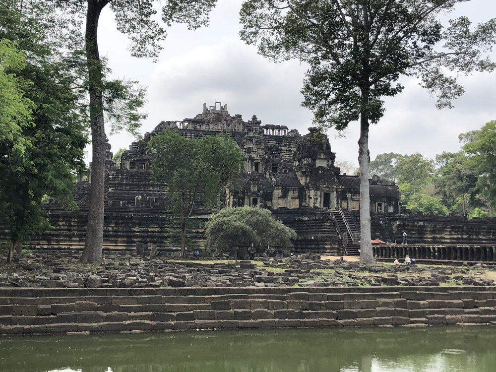 One of the temples within the Angkor Wat complex.