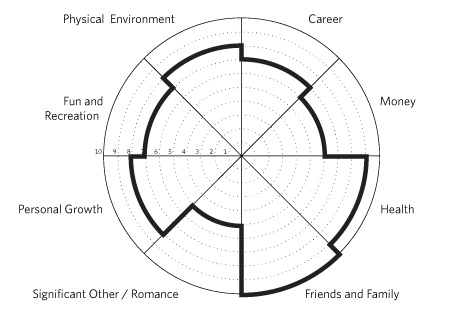 An example of The Wheel Of Life