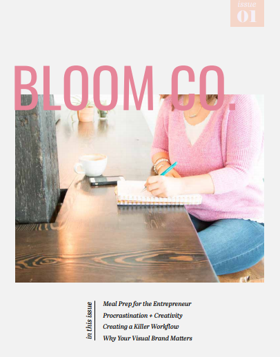 Inspire. Encourage. Support. - Bloom Co. is a magazine created by women entrepreneurs, for women entrepreneurs to inspire, encourage and support each other to build businesses that matter.Visit www.bloommag.co to download the Winter 2018 {FOUNDATIONS} issue.