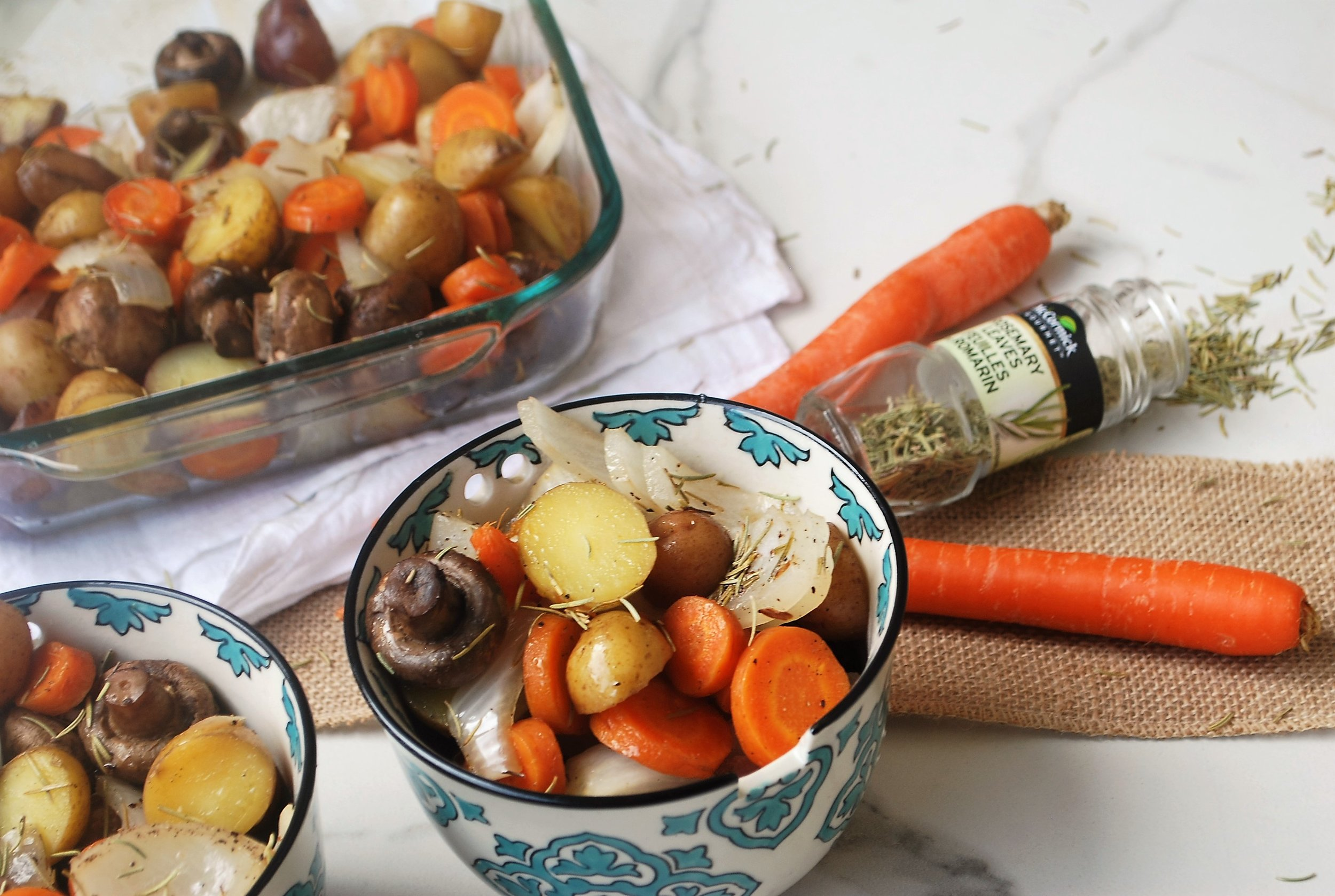 fall inspired roast veggies