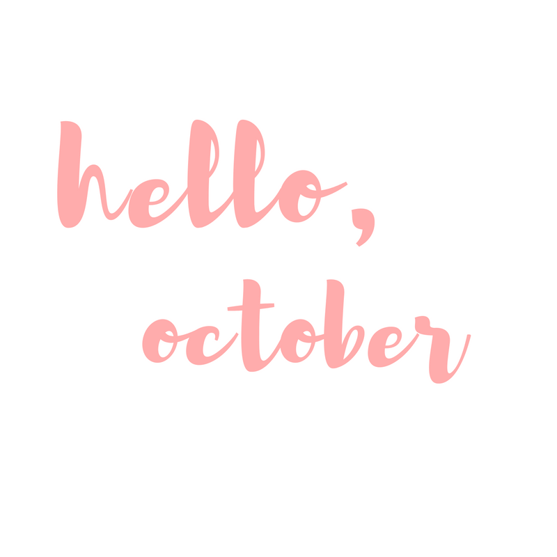hello october september recap post