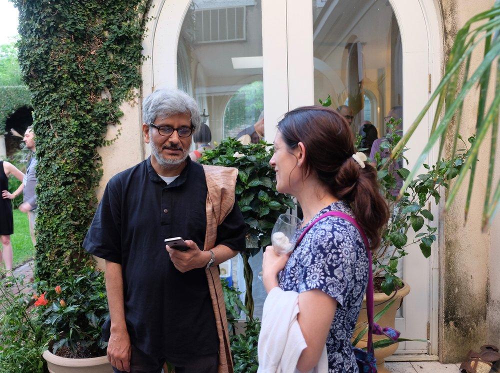 Arindam Chakrabarti, Ana Laura Maderey