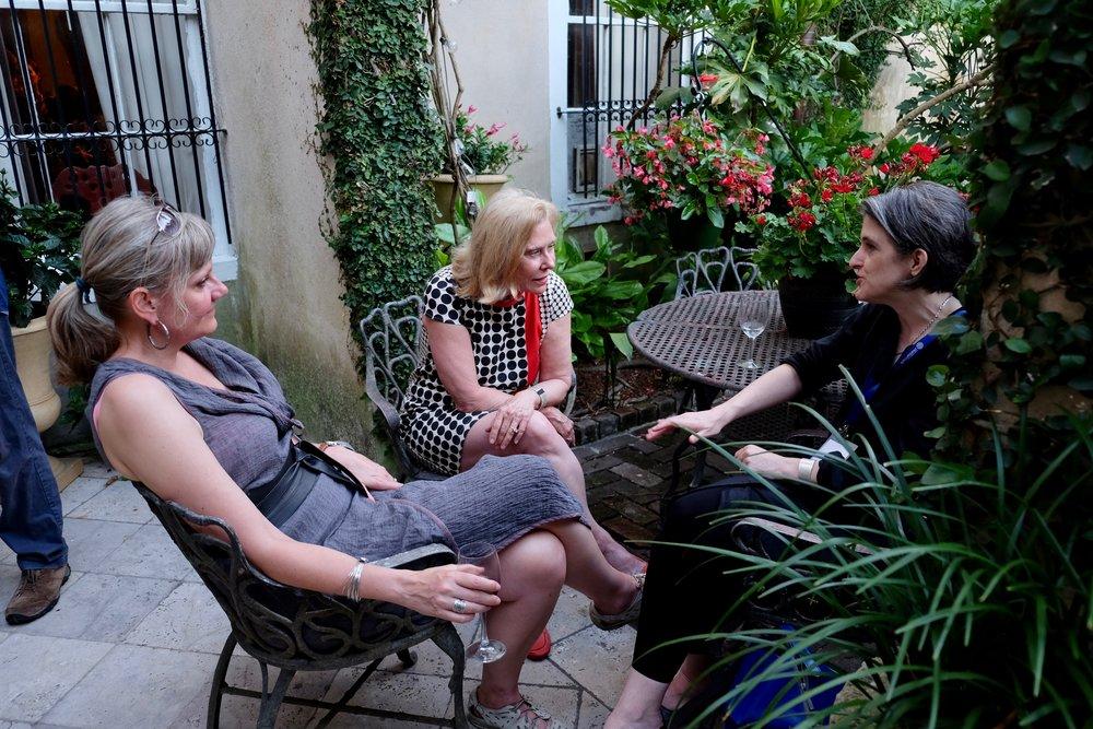 Heidi Maibom, Barbara Hagerty, Natasha Heller