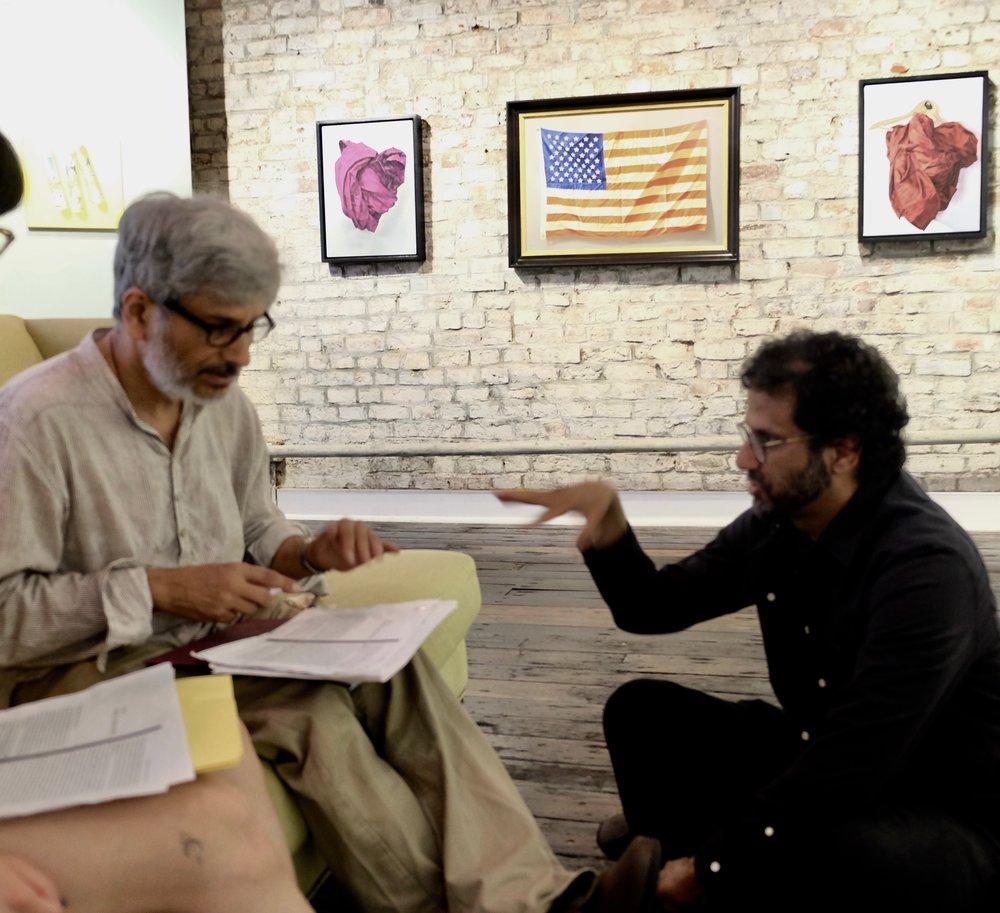 Arindam Chakrabarti, Anand Vaidya