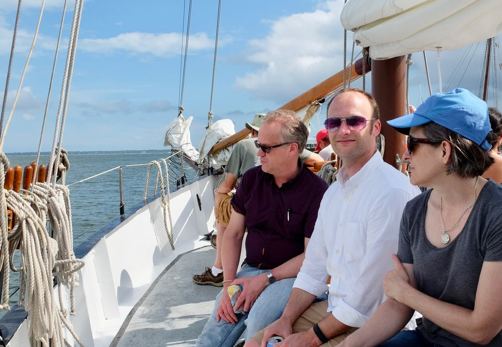 Dennis Arjo, Matt Shockey, Natasha Heller