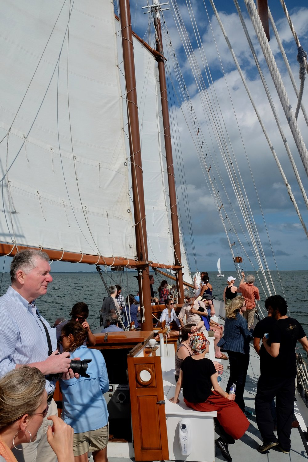 Sailing on the Schooner Pride