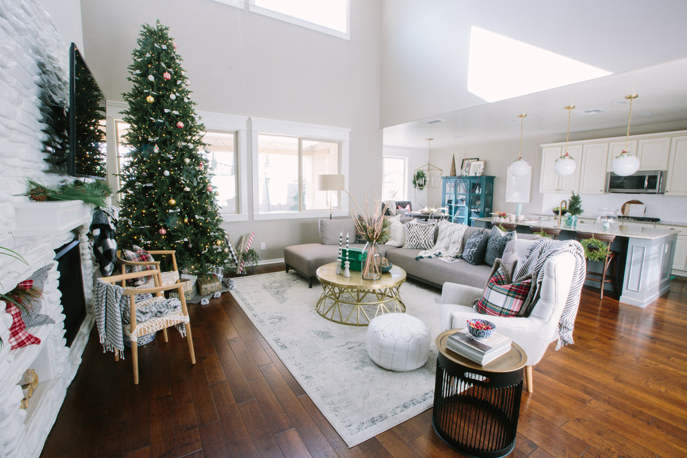 td christmas living room 1