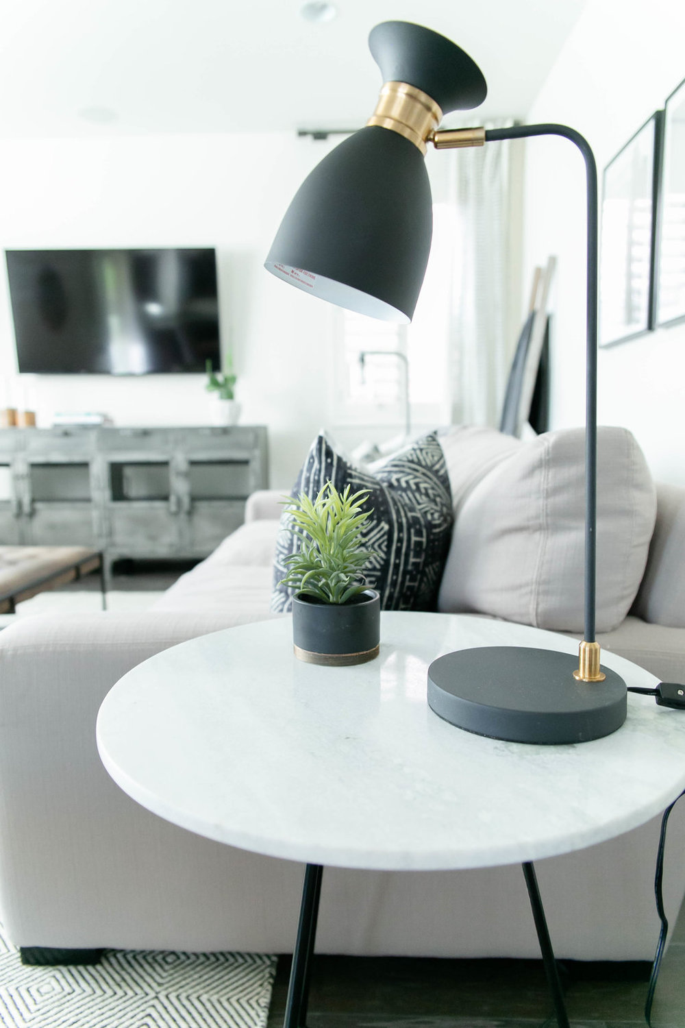 Butte Lane Project, Modern, Living Room, Boho, Black, White