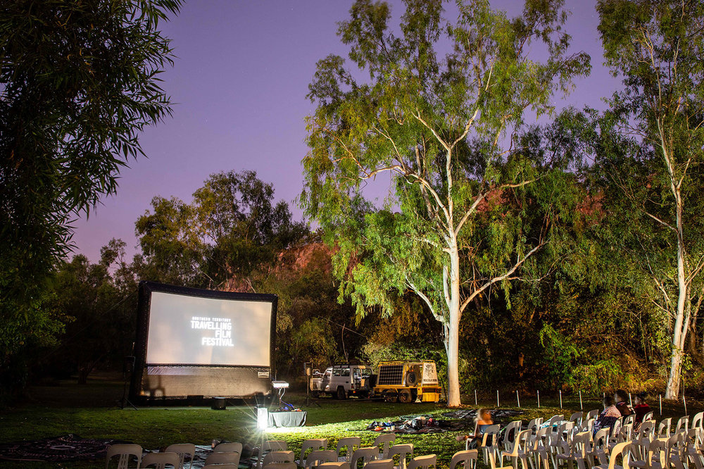 bring the nttff to your tourist event - NTTFF is an outdoor cinema which partners with suitable tourist venues along our touring track to co-present a Tourist Event. If you have the venue, we bring the cinema and films.