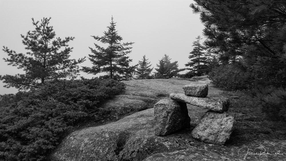 Bates cairn, Acadia National Park.