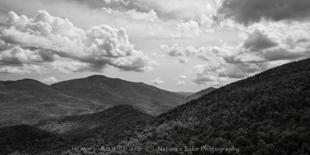 """Giant Skies B&W"" to benefit ADK Mountain Club"