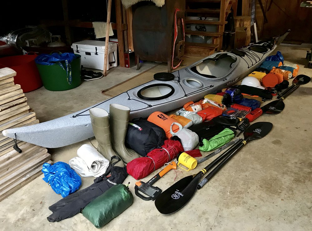 All of this + food + the ocean = expedition!