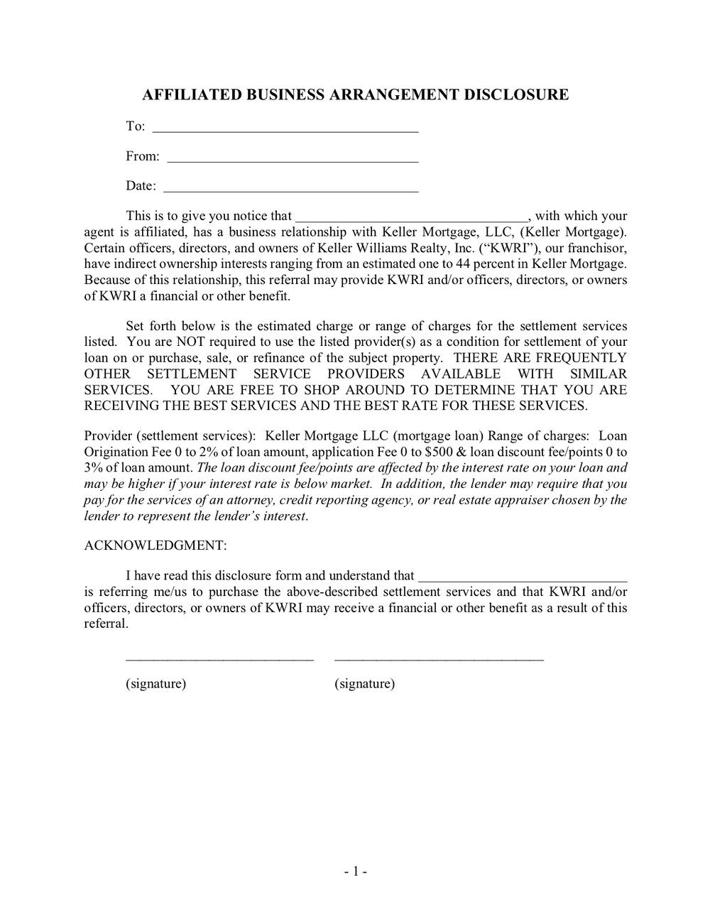 Keller Mortgage Affiliated Business Arrangement Disclosure.jpg