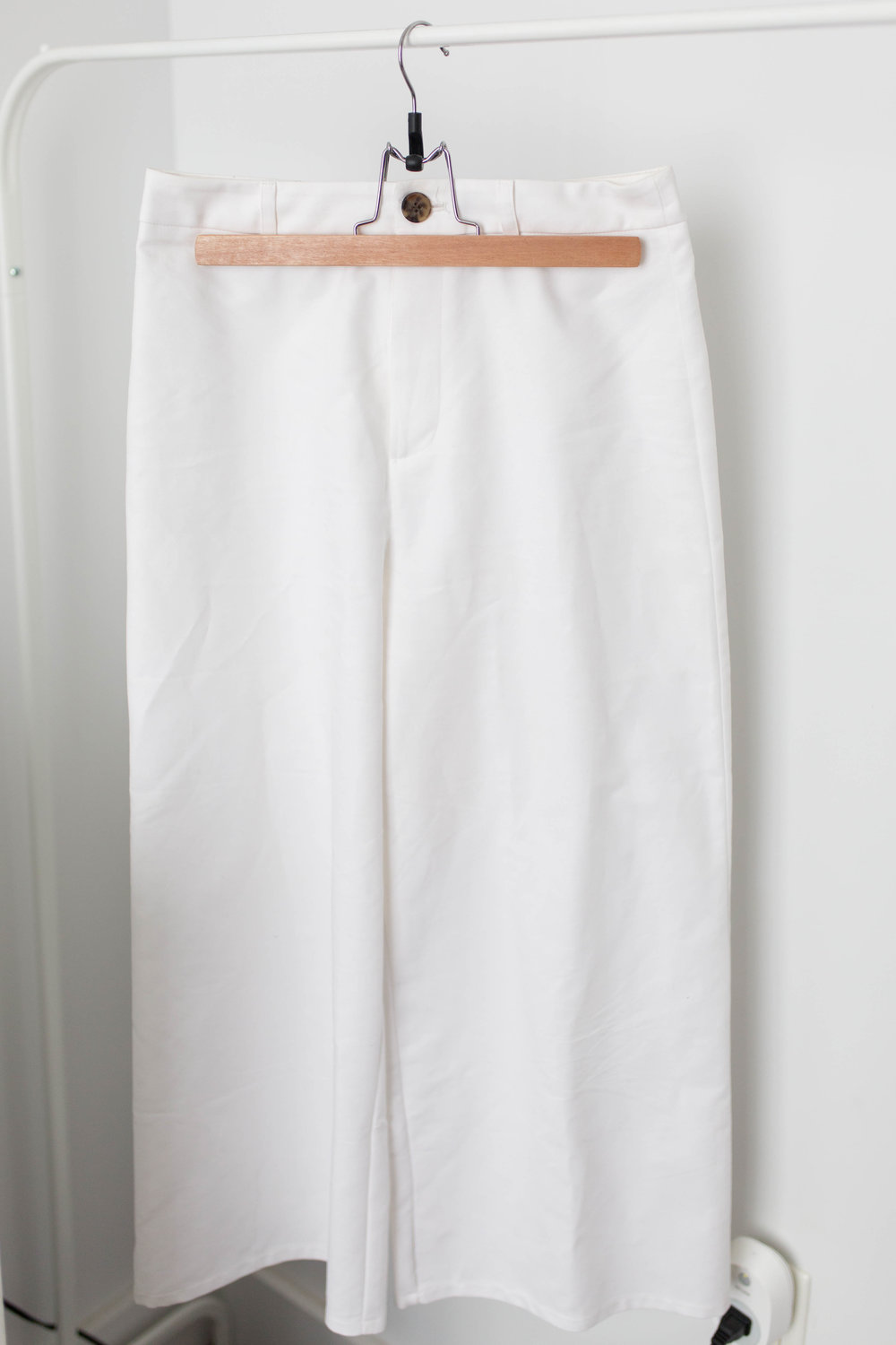 Forever 21 Wide Leg Cropped Pants