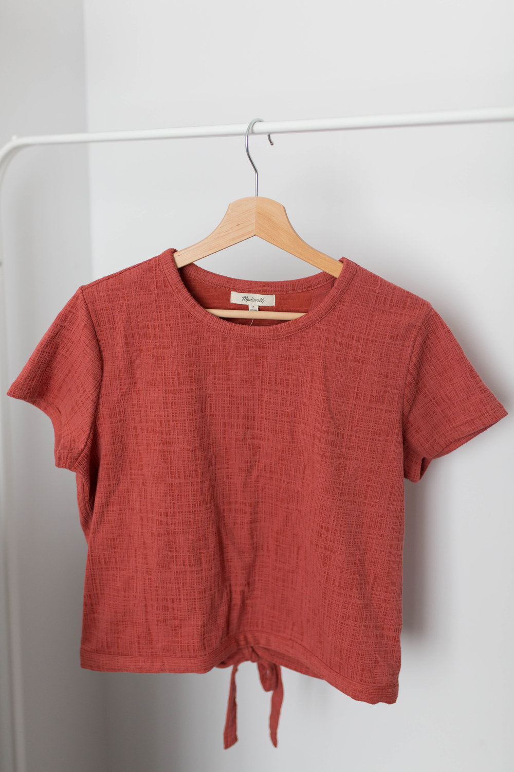 Madewell Cropped Knit Top
