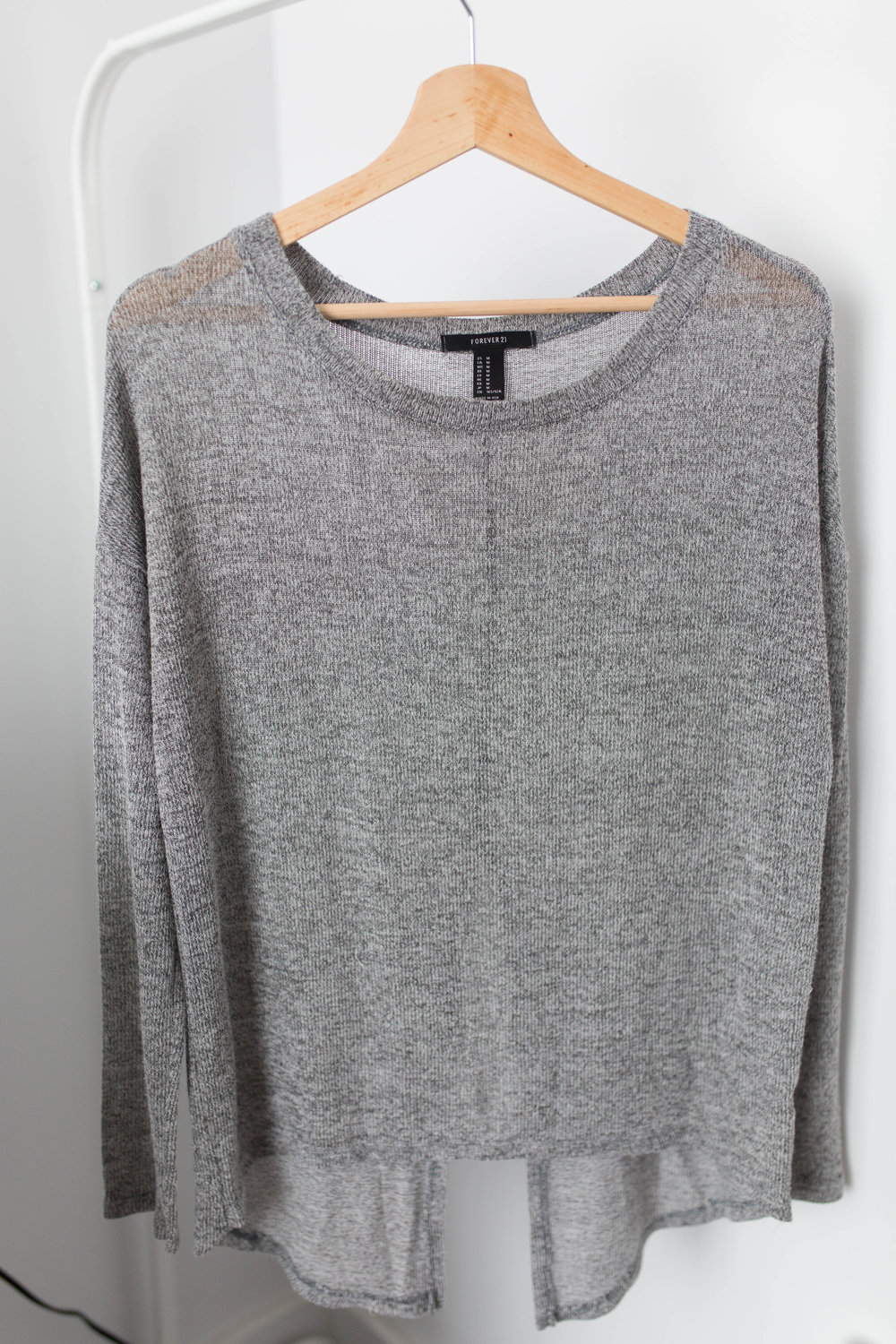 Forever 21 Long Sleeve Knit Top