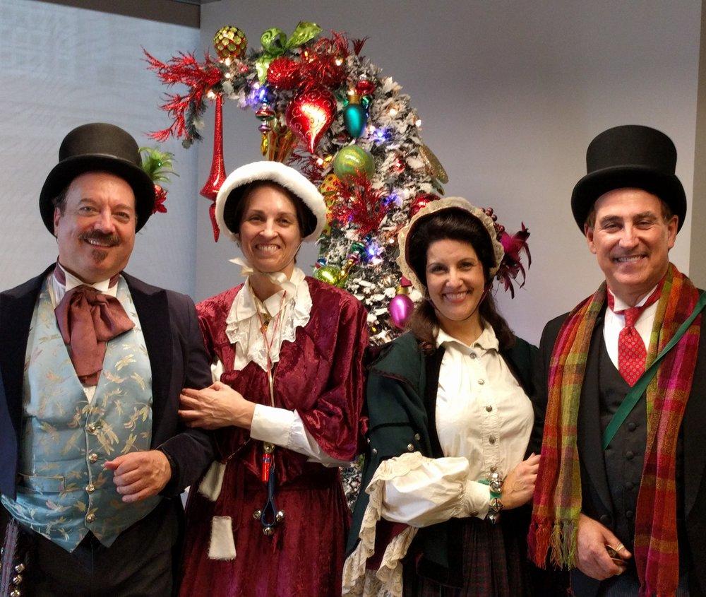 The Merrie Olde Christmas Carolers