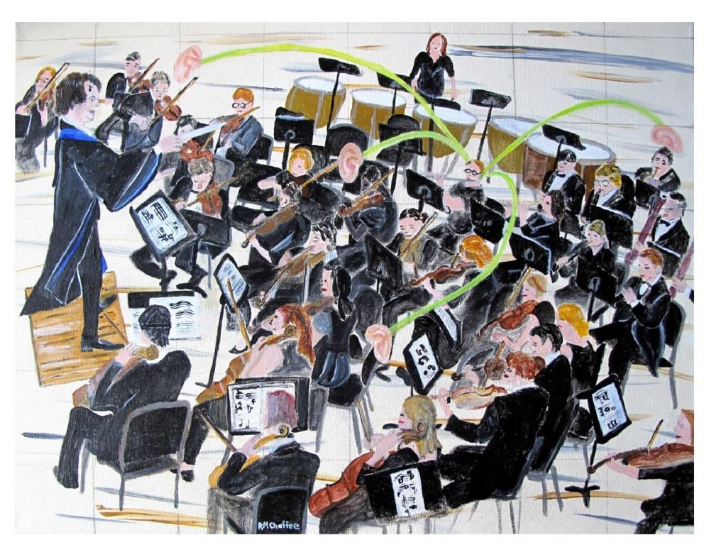 """Tips for Playing in an Orchestra :  """"Put Your Ears on Stalks""""  is the first in the series."""