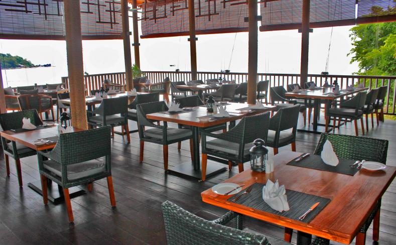 Beach Restaurant - Dining Area Overlooking Sea.jpg