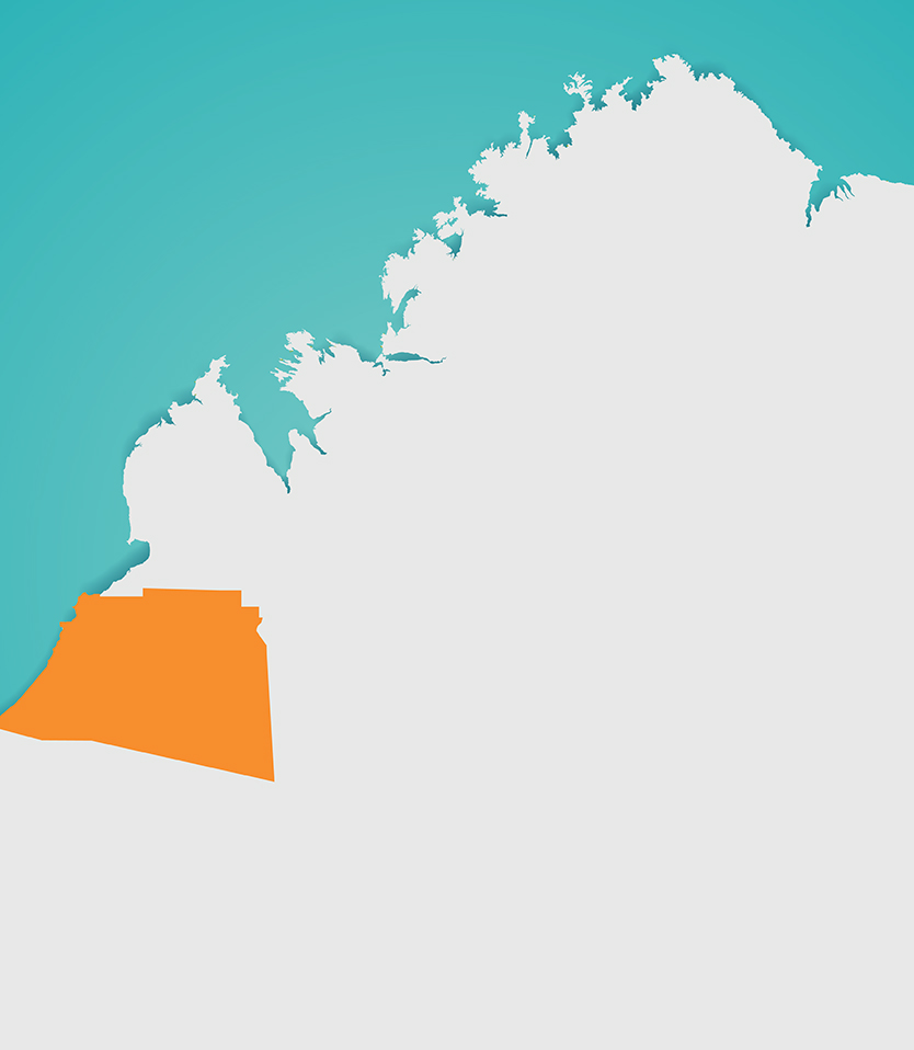 Karajarri Ranger Map