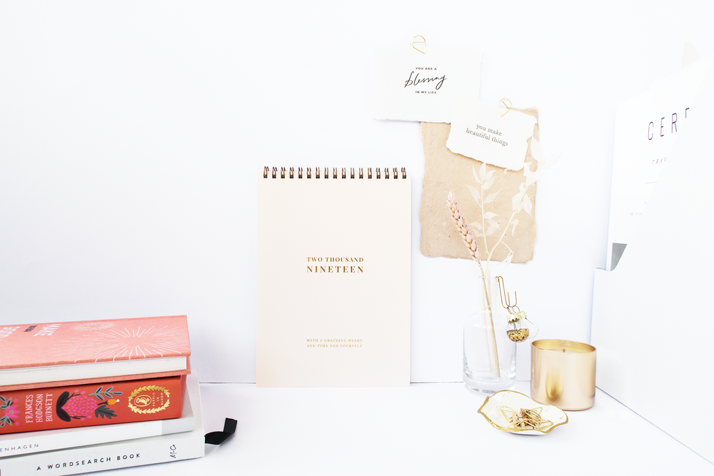 A First Look: 2019 Calendar - Another year of new adventures as new chapters unfolds for your life… Carry them all with a grateful heart and time for yourself.
