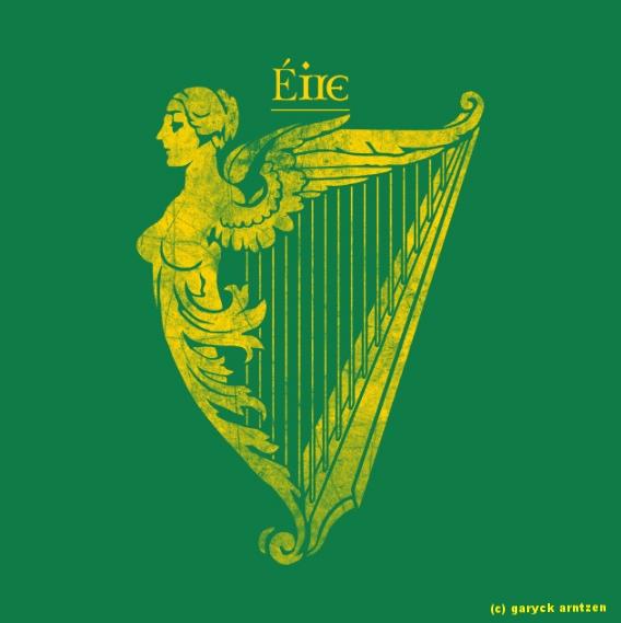 Eire Harp Heraldry