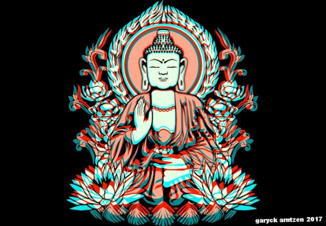 Siddhartha Buddha Glitch