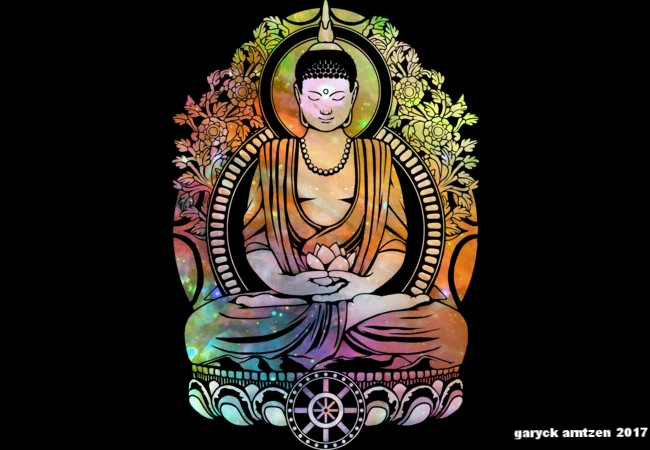 Cosmic Buddha Orange