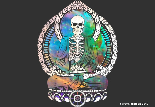 Cosmic Buddha Skeleton