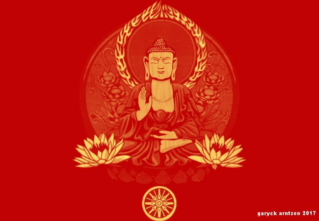 Siddhartha Gautama Buddha Yellow