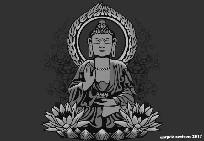 Siddhartha Buddha Halftone