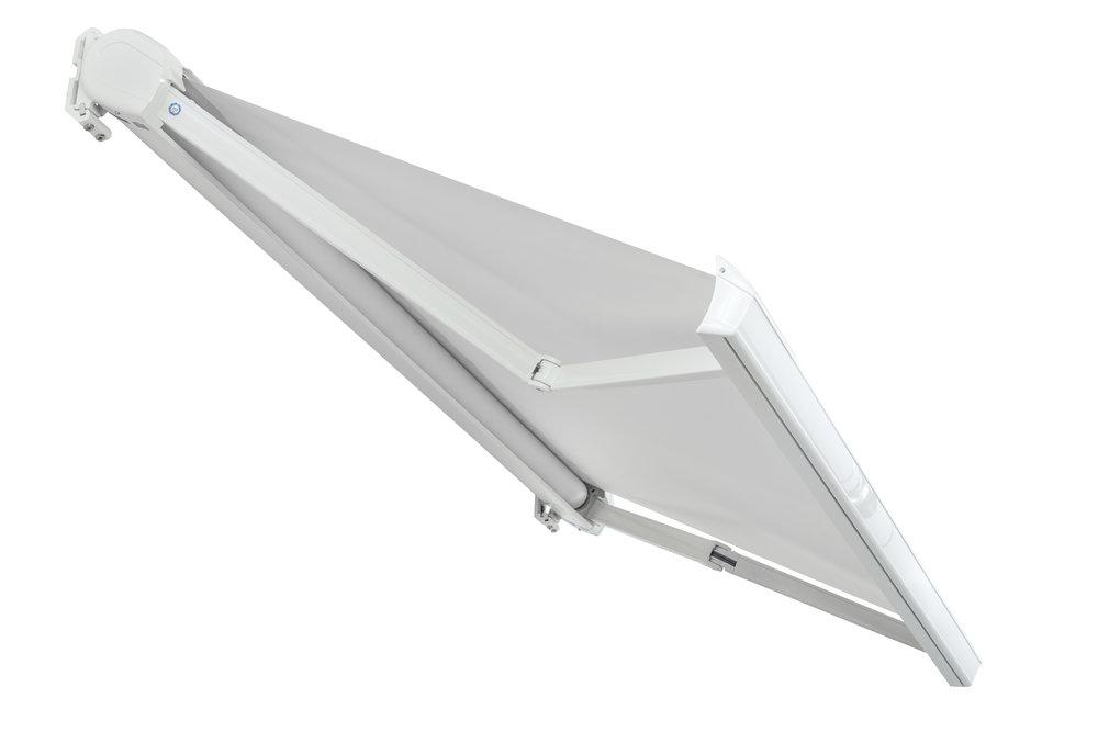 SL CASSETTE - - Tenda con cassonetto integrale- Linee eleganti a basso impatto visivo- Dimensione max (L) cm 500 x (S) cm 300
