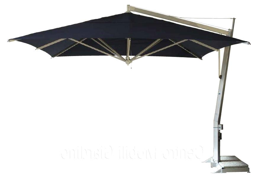 SINGOLO - - Struttura in alluminio-Apertura con sistema a manovella- Copertura max 8mq.RINFORZATO