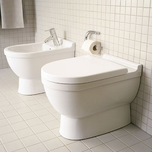Duravit Starck 3 Back To Wall Floor Mounted Toilet — Waterloo Bathrooms